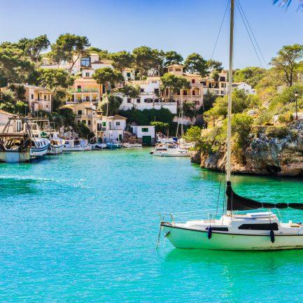 Bucht von Cala Figuera Mallorca Spanien